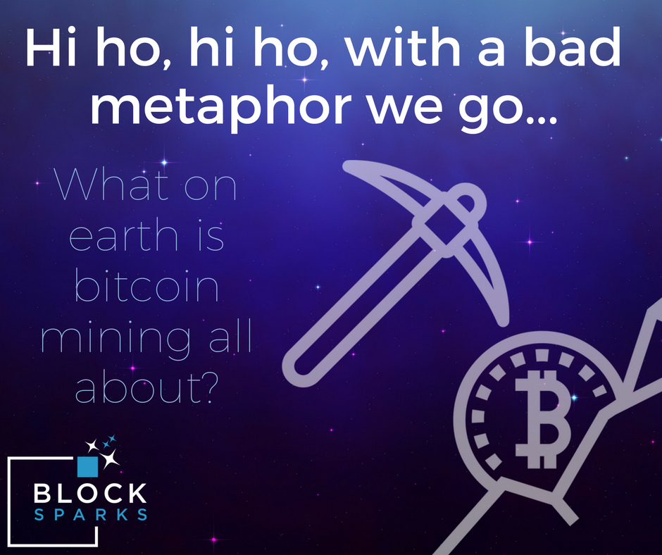 Bitcoin mining bad metaphor