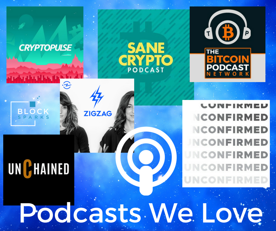Crypto and blockchain podcasts we wove