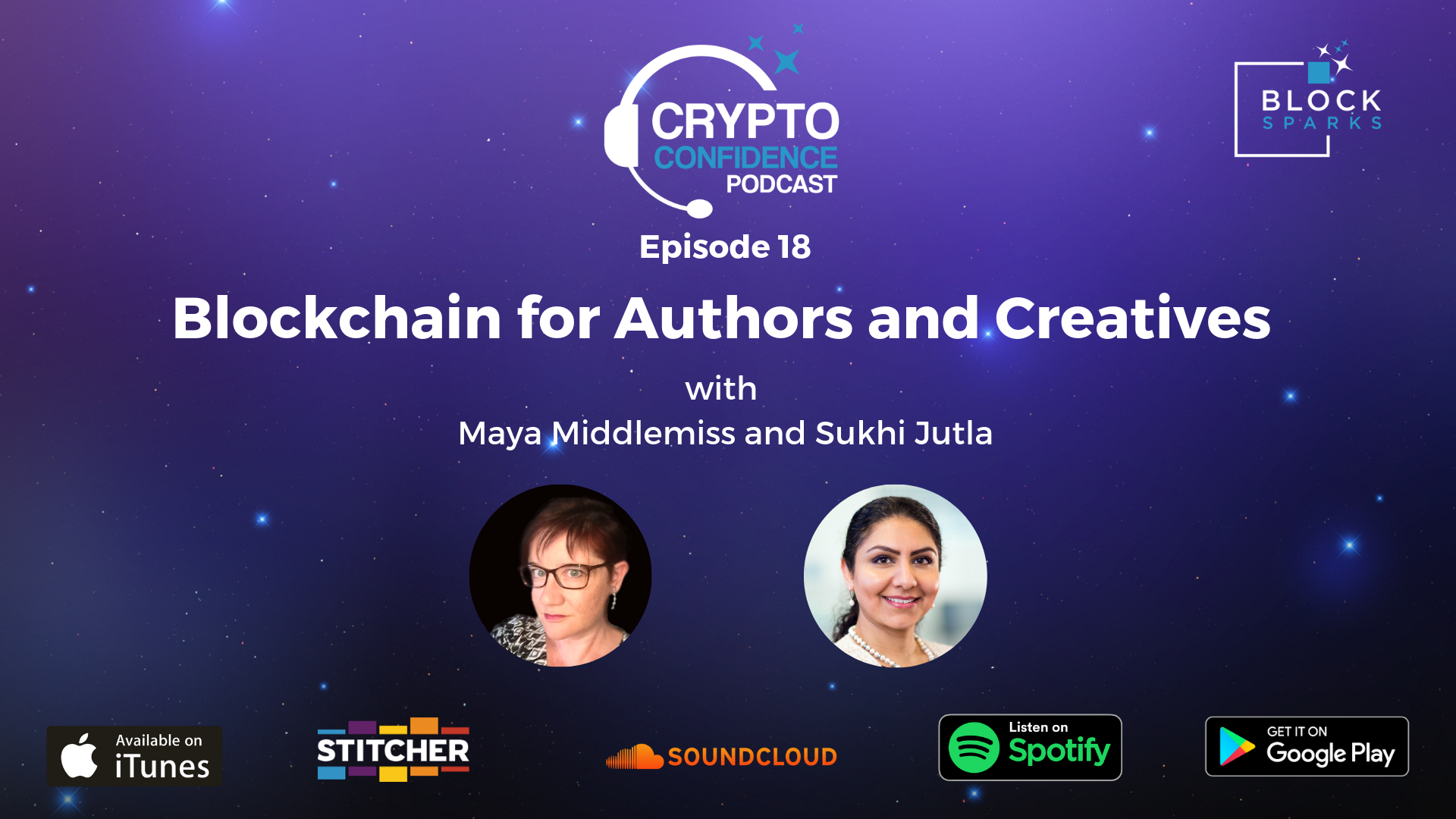 CCP18 Blockchain for Authors and Creatives