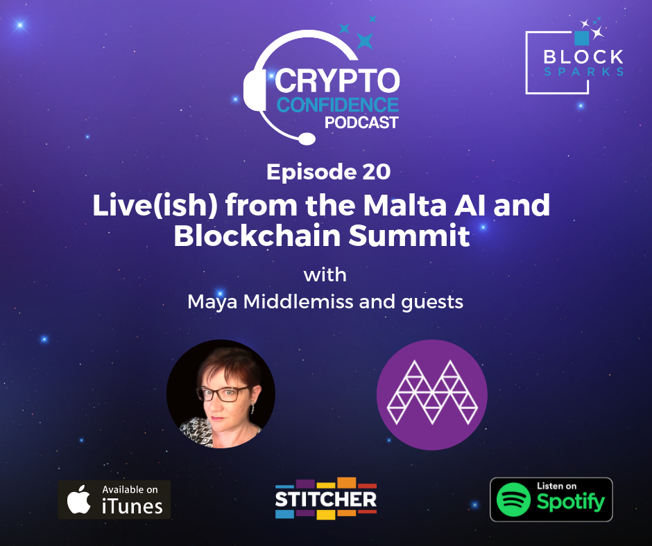 Live(ish) from the Malta AI and Blockchain Summit